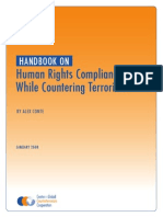 Human Rights Handbook:Human Rights Compliance While Countering Terrorism