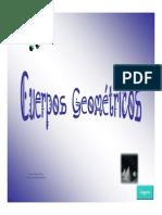 Ppt Cuerpos Geometricos