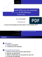 Similares em shell GNU/Linux de comandos cmd.exe do MS-Windows -- Primeira visão