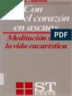 Con El Corazon en Ascuas -Nouwen, Henri J M