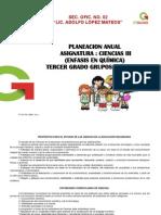 Plan Anual de Quimica 2014-2015