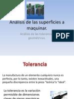 Analisis de Las Superficies a Maquinar.