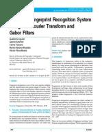 Automatic Fingerprint Recognition System
