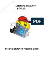 Policy on Photographs