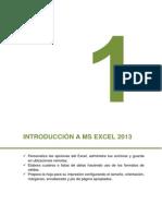 01-Introducción a Microsoft Excel 2013