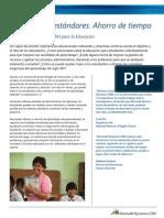 Education Data Sheet Spanish