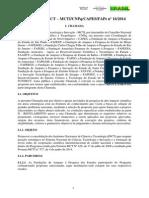 Chamada INCT 16-2014
