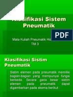 Klasifikasi Sistem Pneumatik1 TM3
