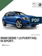 Ficha Tecnica BMW 118i 5 Puertas M Sport Manual 2014