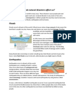natural disasters explanation draft