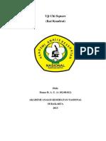 Makalah Kai Kuadrat