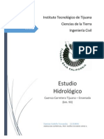 Estudio Hidrologico - Carretera Tijuana Ensenada