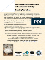 National EMS for the Meat Chicken Industry - Workshop Flyer 22-8-14