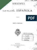 Farmacopea Oficial Española