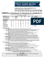 Mariners-Nationals postgame notes (Aug. 31)