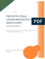 Proyecto Final Instrumentacion y Mediciones