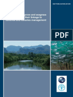 A Review of Mangrove and Seagrass Ecosystems