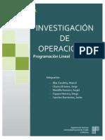 Programación Lineal - Informe Grupal 01