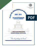 Plan de Desarroll Municipal Acacoyagua 2008 - 2010