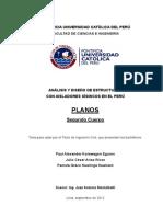 Análisis y Diseño de Estructuras Con Aisladores Sísmicos en El Perú - Segundo Cuerpo - PUCP
