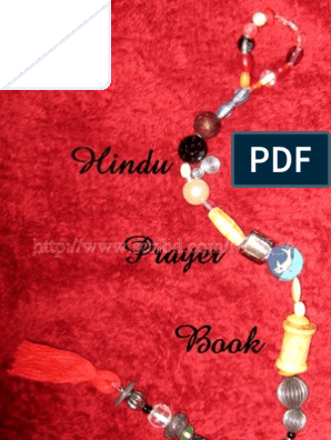 The Hindu Prayer Book | Prayer | Religious Behaviour And Experience