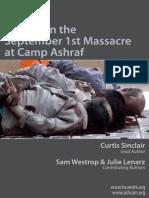 Report on the September 1st Massacre at Camp Ashraf