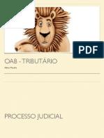 OAB - Tributário - Peças Processuais