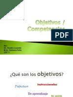 01-Clase 2 Objetivos y Competencias2012