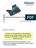 Introduccion a Sistemas Arduinos