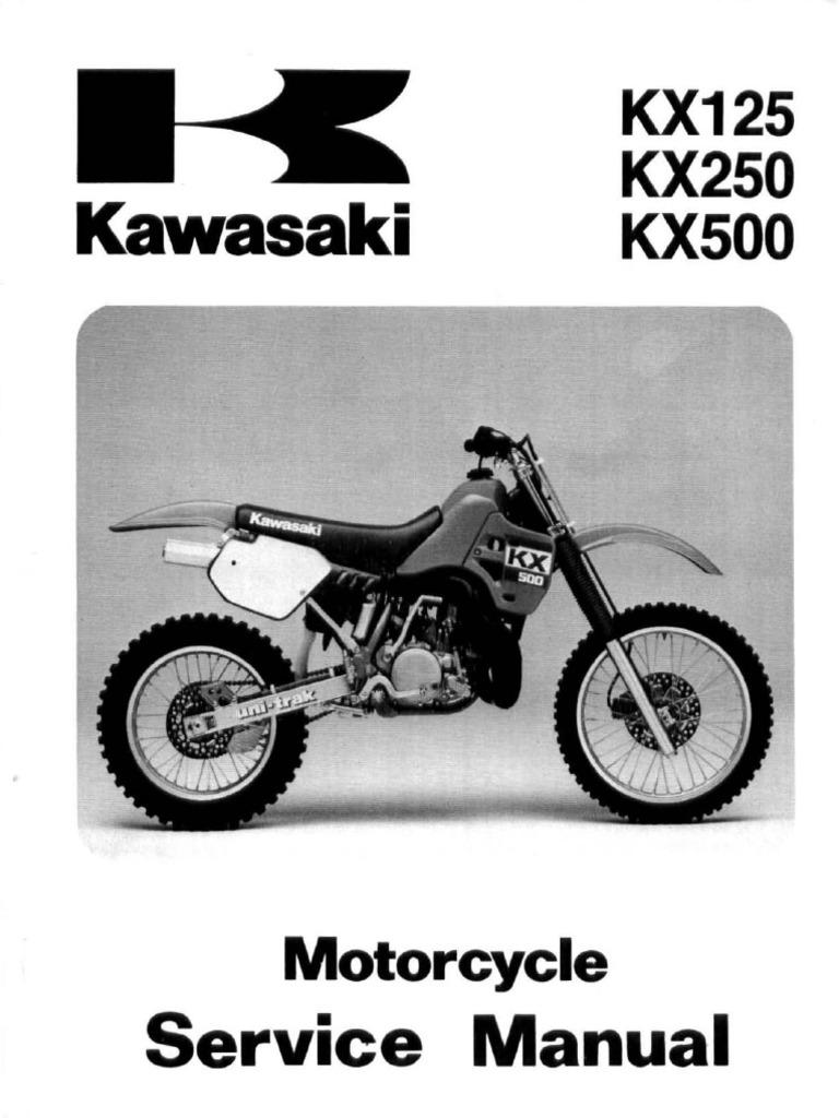 kawasaki kx500 service manual repair 1988 2004 kx 500 carburetor rh scribd com 1974 KX125 1974 KX125
