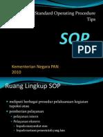 Tips Penyusunan SOP