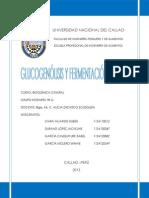 Laboratorio de Glucogenólisis y Fermentación Láctica.