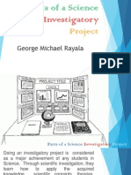 Parts of a Science Investigatory Project