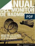 Manual Del Monitor de Badminton - Fesba