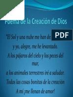 Poema de La Creación de Dios