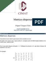 Matrices Dispersas