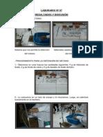 Laborario Nº 07
