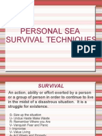 Personal Sea Survival Techniques