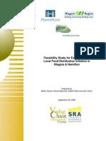 Feasibility Study for Establishing a Local Food Distribution Initiative in Niagara & Hamilton