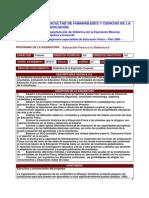 PAEFIS Educacion Fisica Didactica