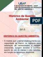 Historico Da Questao Ambiental