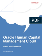 Oracle HCM Cloud Whats New for R8