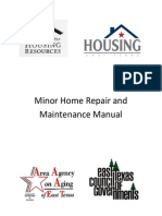 Minor Home Repair and Maintenance Manual