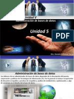 Administración de Bases de Datos Unidada v Posgrado