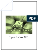 Understanding Service Tax Concepts - June 2013