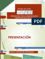 Exposición Programa UNICAS MML