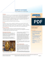 Canto Cumulus - ANDRITZ HYDRO case study