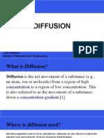Diffusion Presentation