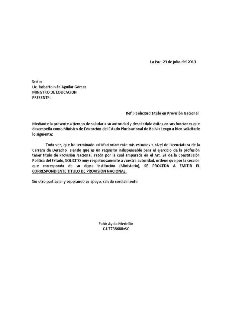 Carta Solicitud Lic Roberto Ivan Aguilar Gomez Pdf Carta dirigida a una autoridad
