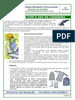 BIP-AST-067-Segurança Com o Uso Da Lixadeira